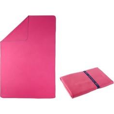 Полотенце Из Микрофибры Розовое Очень Компактное 110 X 175 См, Размер Xl Nabaiji