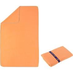 Полотенце Из Микрофибры Светло–оранжевое Размер L 80 X 130 См Nabaiji