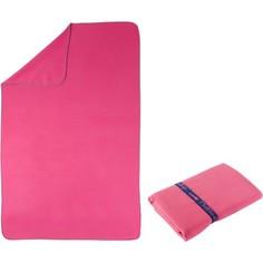 Полотенце Из Микрофибры Розовое L 80 X 130 См Nabaiji