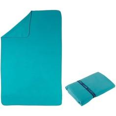 Полотенце Из Микрофибры Синее Очень Компактное 110 X 175 См, Размер Xl Nabaiji