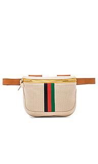 Поясная сумка desert stripe - Clare V.