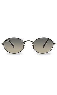 Солнцезащитные очки oval flat - Ray-Ban