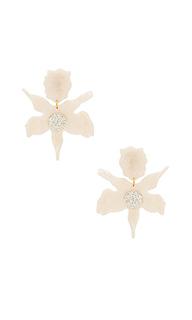 Серьги crystal lily - Lele Sadoughi