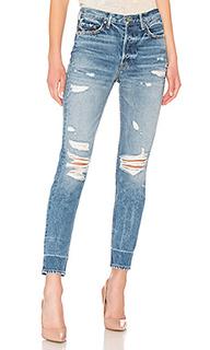 Рваные облегающие джинсы karolina - GRLFRND