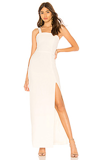 Вечернее платье с разрезом marina - by the way.
