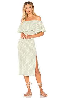Платье с открытыми плечами cori - ELLEJAY
