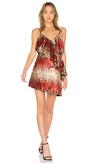 Платье с пайетками caliente - NBD