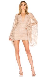 Платье с длинным рукавом dacquiri - NBD
