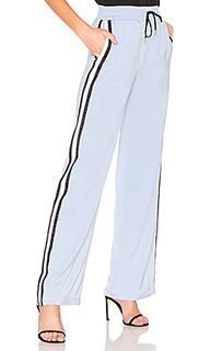 Спортивные штаны с широкими брючинами drawstring - MAJORELLE