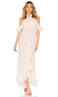 Вечернее платье с открытыми плечами zaya - Lovers + Friends