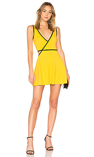 Приталенное расклёшенное платье roulette - NBD