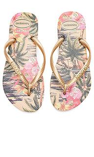 Сандалии slim tropical - Havaianas
