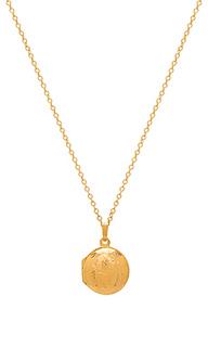 Кулон-медальон round - Natalie B Jewelry