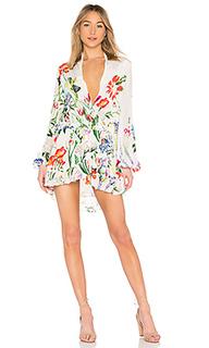 Мини платье bloom - ROCOCO SAND