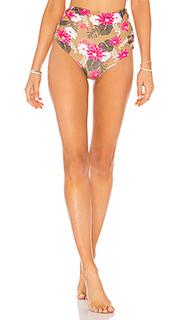 Низ бикини с высокой талией queens - Acacia Swimwear