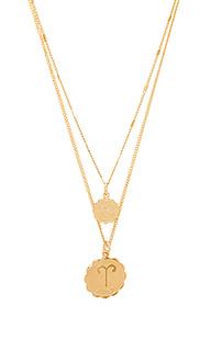 Ожерелье aries zodiac - joolz by Martha Calvo