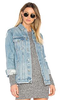 Свободная джинсовая куртка customization daria - GRLFRND