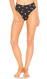 Плавки с высоким поясом - Peony Swimwear