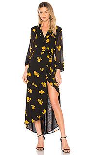 Платье fairfax georgette - Ganni