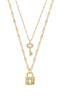 Ожерелье key & lock - Frasier Sterling