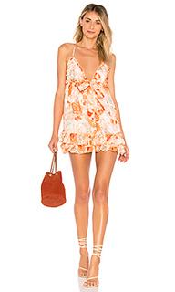Платье с высокой талией penny - MAJORELLE