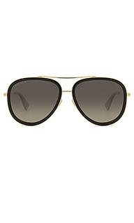 Солнцезащитные очки aviator - Gucci