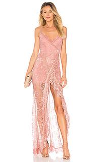 Кружевное вечернее платье paisley - MAJORELLE