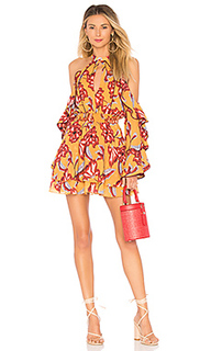Платье с прорезями на плечах harmony - House of Harlow 1960