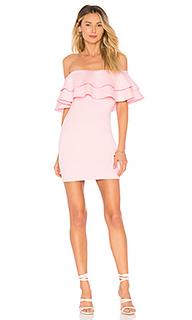 Мини-платье с открытыми плечами rhiannon - by the way.