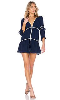 Миди платье с длинным рукавом dahlia - ale by alessandra
