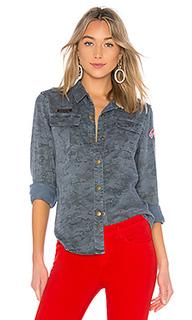 Printed camo shirt - Pam & Gela