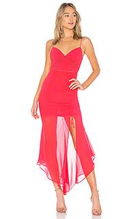 Платье с завязкой georgette - NICHOLAS