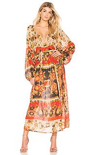 Макси платье matrioshka - Mes Demoiselles