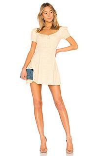 Короткий рукав платье клетка 251 - LPA