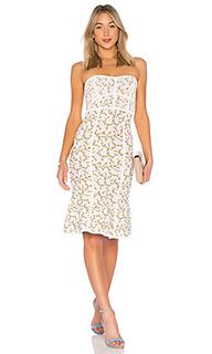 Lynne jacquard strapless dress - BCBGMAXAZRIA