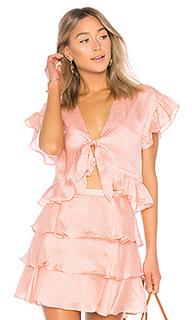 Блуза с узлом winnie - Tularosa