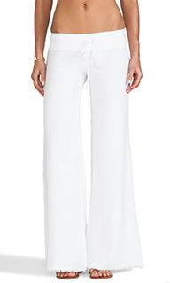 Льняные брюки с широкими штанинами - krisa