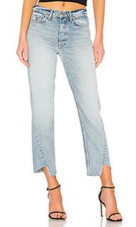 Carmen high-rise straight leg jean - GRLFRND