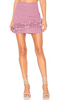 Мини юбка с высоким поясом ballard - Lovers + Friends