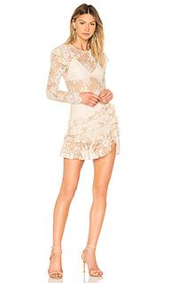 Платье с длинным рукавом lee - MAJORELLE