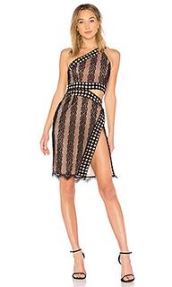 Кружевное миди-платье luz - NBD