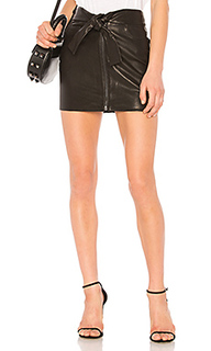 Завязка на талии мини-юбка - FRAME