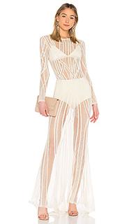 Вечернее платье с длинным рукавом eclipse - X by NBD