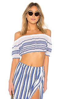 Укороченная блузка lulu - Lemlem