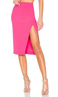 Миди юбка с разрезом sydni - NBD