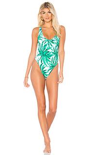 Слитный купальник palm trees - MILLY