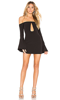 Мини-платье с длинным рукавом alaia - NBD