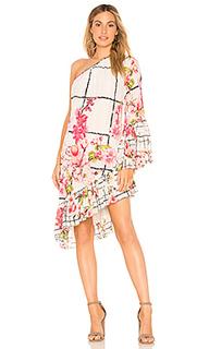 Платье с открытыми плечами letitia - ROCOCO SAND
