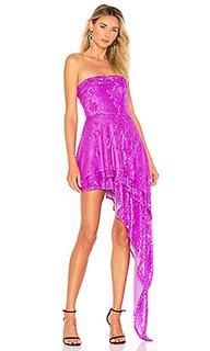 Вечернее платье без бретелек candy - X by NBD
