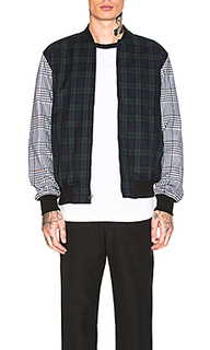 Mixed plaid bomber - Stussy